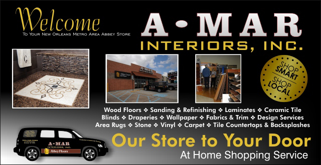 Welcome to A-Mar Interiors an Abbey Carpet & Floor Showroom.