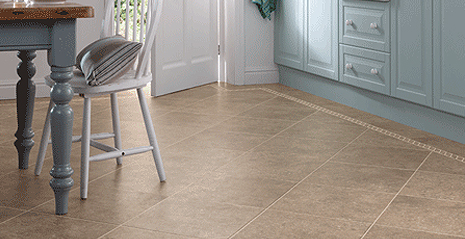 Karndean Design Flooring replicates the beauty of natural wood and stone with is flooring.