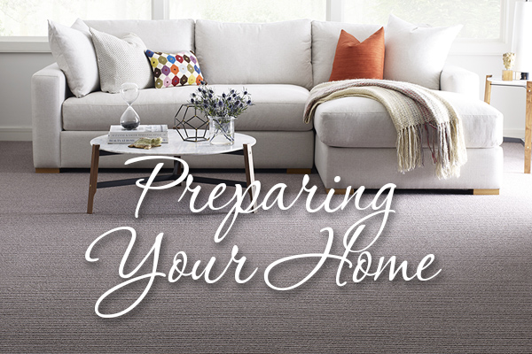Preparing your home for installation of your new flooring.
